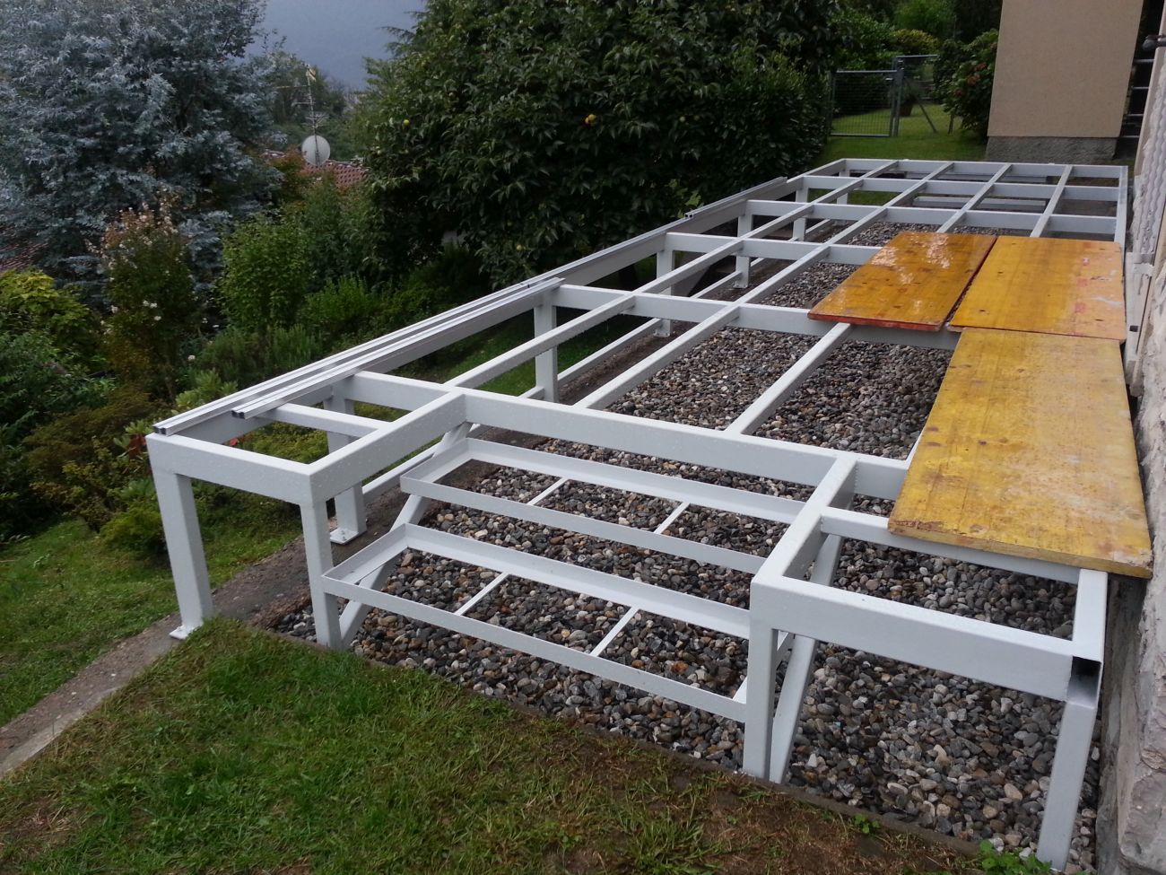 Parquet per balconi soriano pavimenti in legno for Pavimento da esterno ikea
